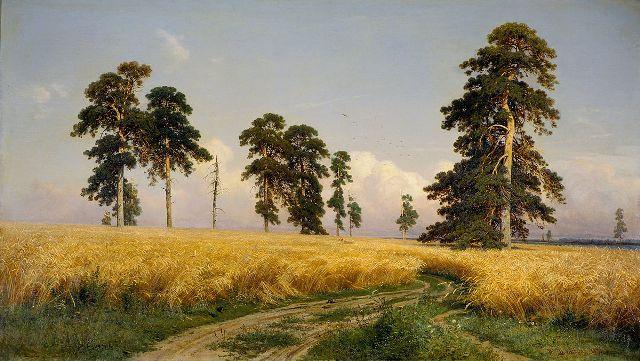 Иван шишкин рожь 1878г.