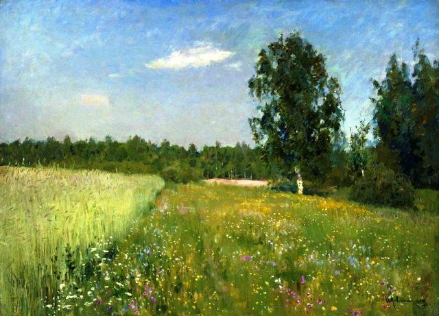 Исаак левитан июньский день (лето) 1890 е